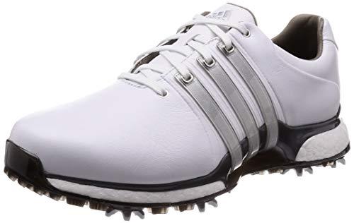 adidas Tour360 XT(Wide), Chaussures de Golf Homme, Blanc (Negro/Blanco Bd7123), 44 2/3 EU