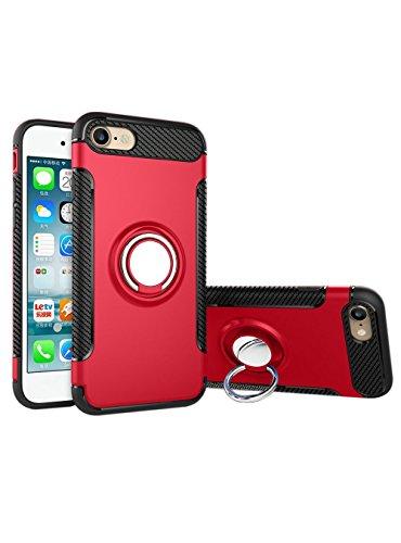 Coque iPhone 6 6s,Case Ultra Mince Protection-Bague Ring Stand Holder-360 degrés sur la béquille ,Hybride Anti-scratch Housse Etui, - MMY Housse Etui Coque Pour iPhone 6 6s-Or 6