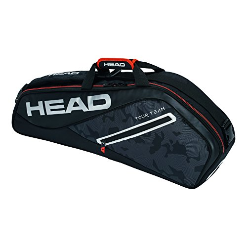 HEAD Tour Team 3R Pro Tennisschläger Tasche, unisex, Tour Team 3R Pro, schwarz/silber