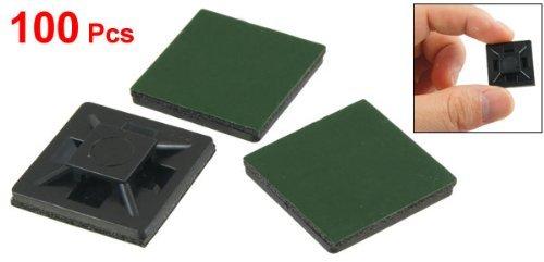 SODIALR 100 Piezas 20mm x 20mm x 4mm Base Soporte
