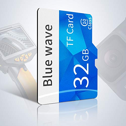 ROTEK Micro SD Karte 32 GB, SDHC Memory Card, Class 10 U1 Speicherkarte Für Telefon, Endoskop Und Mikroskop Kamera - Mit Adapter (32gb) (Card)