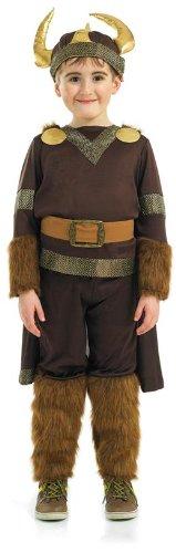 Imagen de viking  disfraz de guerrero vikingo para niño, talla m 6  8 años  2989 300m