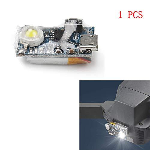 Linghuang Strobe Light Flash pour Drone pour DJI Mavic Pro 2 Mavic 2 Zoom Mavic Pro Mavic Air Spark Phantom 4/ 3 Inspire 1 Avion RC YuneecTyphoon H Q500 Kit Croisière de Nuit (1 PCS)