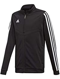 huge discount 058f4 d049d adidas Tiro19 PES Jkty, Felpa Bambino, Nero, 13-14