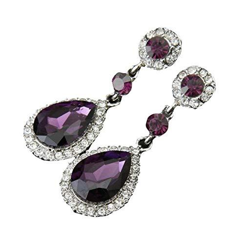 Yvelands Hochzeits-Schmuckrhinestone-Art-Hochzeits-Ohrringe für Frauen
