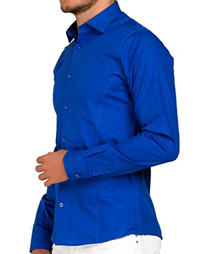 RED BRIDGE - Chemise casual - Homme Saxe Blau