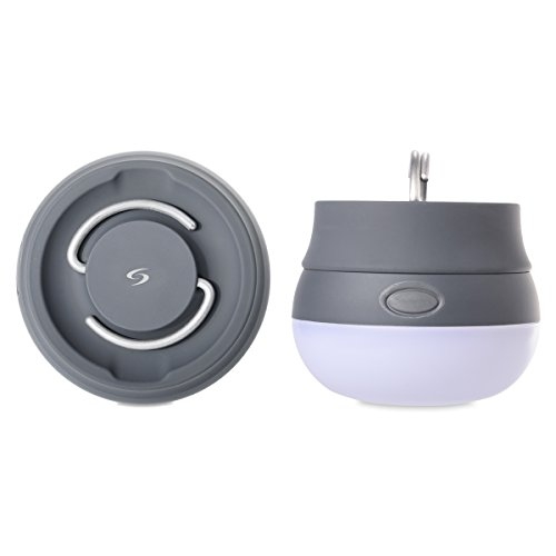 Sunix Mini Camping Licht Campinglampe Ultra Bright LED Laterne Best tragbare ! Flammenlose Kerze ist ideal für Indoor/Outdoor Camping, Wandern, Klettern, Pfadfinder und vieles mehr!
