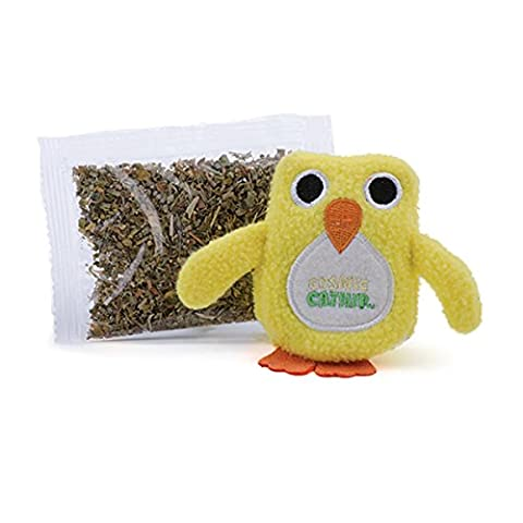 Ourpets Owl Cosmic Refillable Catnip Scent Interactive Fun Cat Play Toy Genuine