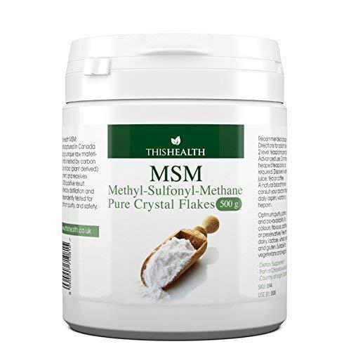 MSM Chlorella World – Methylsulfonylmethane (MSM), 500g MSM Kristall Flocken (Pulver)