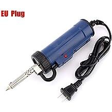 Bomba de succión automática de estaño, eléctrica, desoldador, herramienta de desoldador, reparación