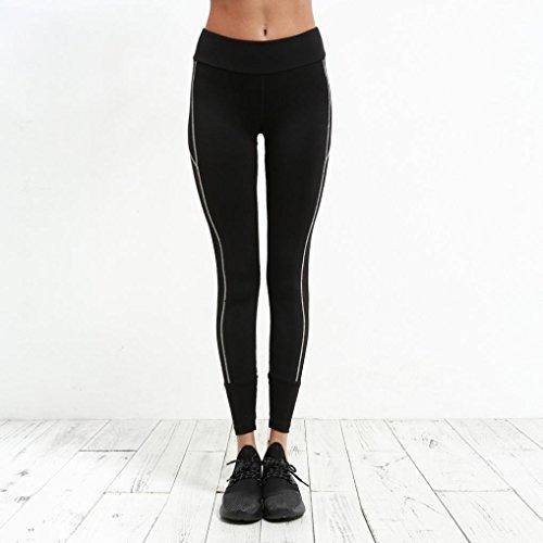 Homebaby Yoga Leggings Sportivi Donna Pantaloni Tagliati Mid Waist -  Eleganti Leggings Sport Opaco Fitness Spandex ...