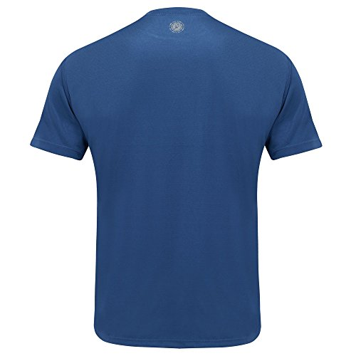 """Time To Run Men's Favourite Short Sleeve Running Gym T Shirt Top Small 38""""- 40"""" Steel Blue"""