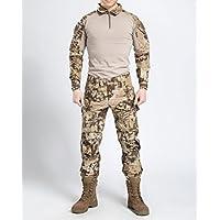 Nueva serie Commando camuflaje Rana trajes pantalones de camuflaje táctico Soft respirar libremente Wear-resisting
