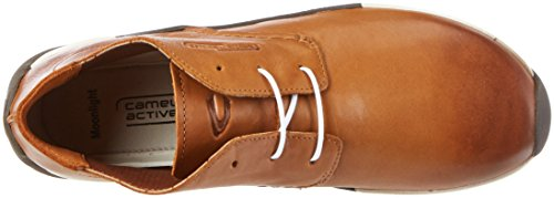 camel active Damen Moonlight 73 Derby Braun (brandy 02)