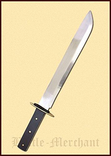 Langmesser Haumesser Bauernwehr Mittelalter Sax Wikinger-Messer echt