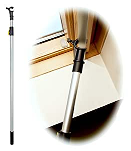 Winhux telescopic window pole rod designed to control for Velux skylight control rod
