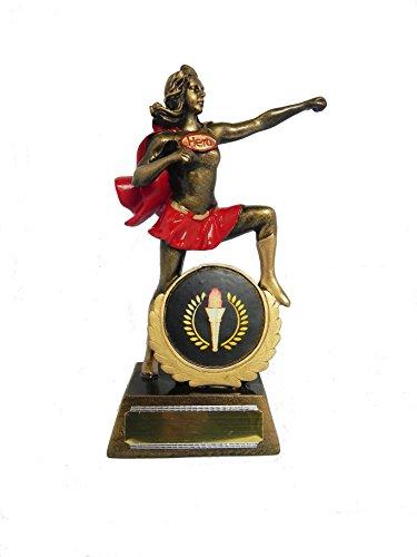 Weiblich Generic Superheld Figur Trophy–184mm