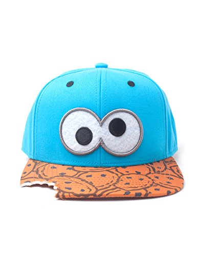 Difuzed Sesamestreet Cap Cookie Bite Snapback Blue Cap