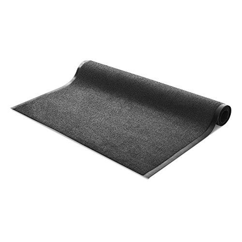 Tappeto entrata cattura sporco   passatoia al metro assorbente per ingresso interno ed esterno   varie misure e in due classici colori - 200x100cm - grigio e nero