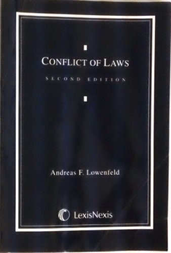 Conflict of Laws Document Supplement: Federal, State, and International Perspectives, Revised por Andreas Lowenfeld
