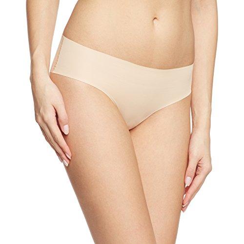 Calida Damen Slip Silhouette, Einfarbig, Gr. 42 (Herstellergröße: S 40/42), Beige (teint 895) (Unterwäsche Calida Slip)