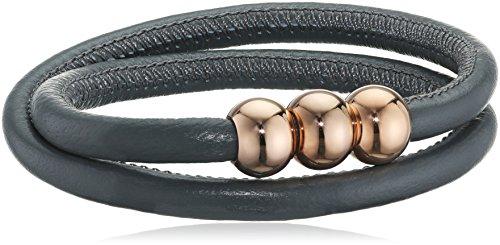 Boccia Damen-Armband Titan Leder 40.0 cm - 0397-0140 Preisvergleich
