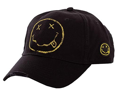 Nirvana 'Smiley' Baseball Cap