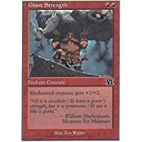 Magic: the Gathering - Giant Strength - Sixth Edition by Magic: the Gathering