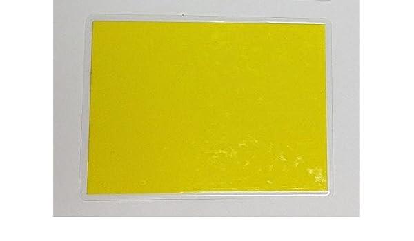 30 laminierte Preisschilder 154 x 216 mm zitronnengelb Werbesymbole f/ür Obst und Gem/üse