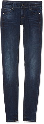 G Star - Jeans - Femme Bleu (Dk Aged 89)