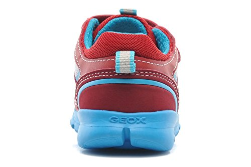 Geox, Sneaker bambini multicolore multicolore 21 Rosso/Bianco