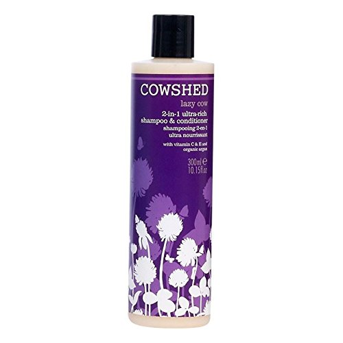 Cowshed Lazy Cow 2-in-1 Rich Shampoo and Conditioner 300 ml by Cowshed (English Manual)
