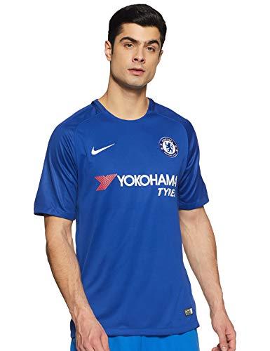 Nike Herren Breathe Chelsea Stadium Trikot, Rush Blue/White, M
