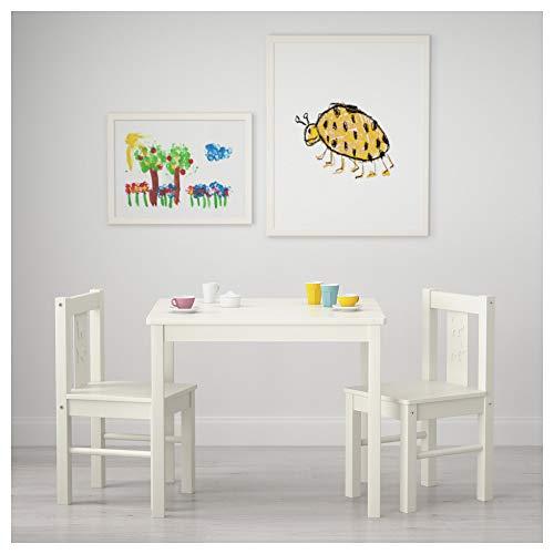 IKEA KRITTER Kindersitzgruppe in weiß