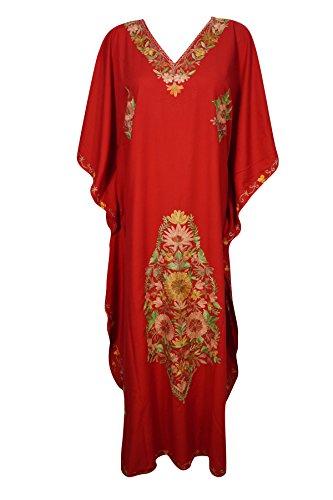 Boho Chic Designs -  Camicia da notte  - Kimono - Donna Red