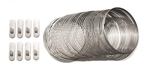"""Dissuasori per volatili anti piccione a molla in acciaio inox """"Mollami"""" (1, 4 mt. lineari)"""