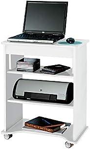 مكتب كمبيوتر بسطح طاولة من ارتلي مصنوع من خشب ام دي اف، بلون ابيض - ارتفاع 73.5 سم × عرض 55 سم × عمق 35 سم.