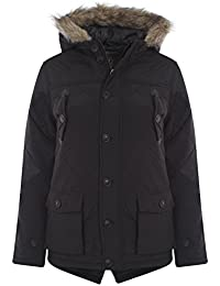 ShopOnline® NEW KIDS CHILDRENS BOYS BRAVE SOUL FISH TAIL QUILTED PADDED WINTER BACK TO SCHOOL JACKET COAT SIZE 7 - 13