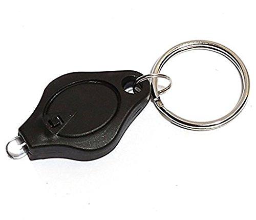 hippolo LED Taschenlampe Taschenlampe Schlüsselanhänger - Power-keychain