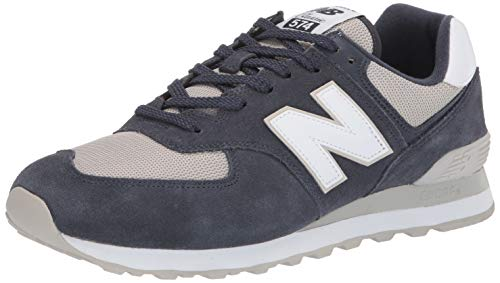 fdbb512c32c92 New Balance - ML574EGN - Baskets - Homme - Bleu (Outerspace/Light Cliff  Grey Esq) - 42 EU