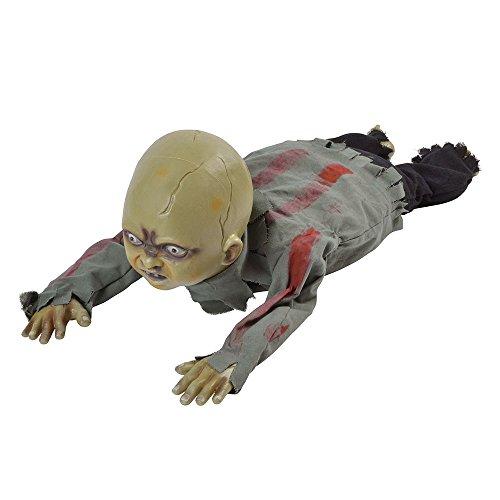 Bristol Novelty hi340kriechen Zombie Baby, mehrfarbig, one ()