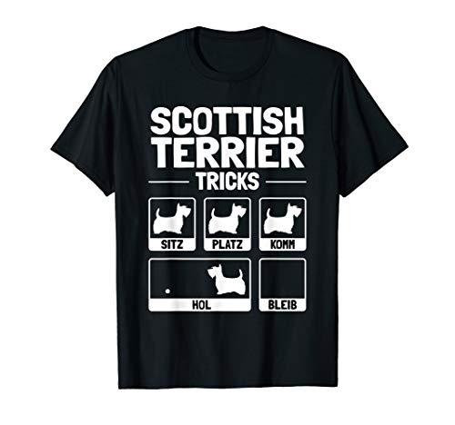 Scottish Terrier T-shirt (Lustiges Scottish Terrier T-Shirt Hund Geschenk Hundehalter)