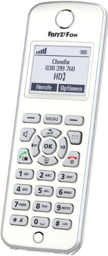 Produktbild AVM FRITZ!Fon M2 DECT-Komforttelefon (für FRITZ Box Monochromes Display, HD-Telefonie) deutschsprachige Version