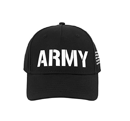 Alpha Industries Army Cap (One Size, Black)