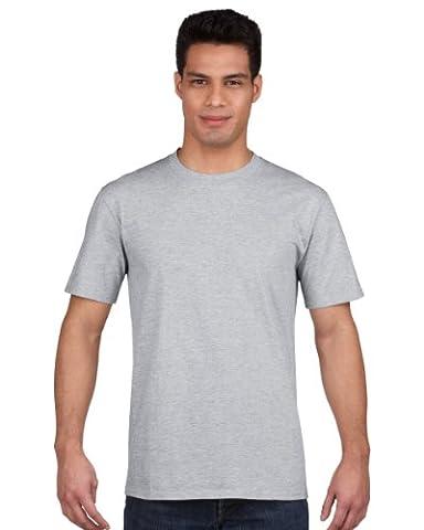 Gildan Mens Premium Cotton Ring Spun Short Sleeve T-Shirt (2XL) (Sport Grey (RS))