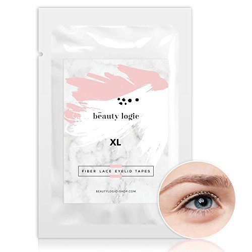 Ultra Lift Eye (Ultra Invisible Fiber Lace Eyelid Lift Strips-Double Eyelid Tape with Free Tools Set&Eyelid Glue 120pieces(Small)Available in 4 Sizes.Perfect for hooded eyes, mono-lid Eyes,uneven eyelids by Beauty Logic)