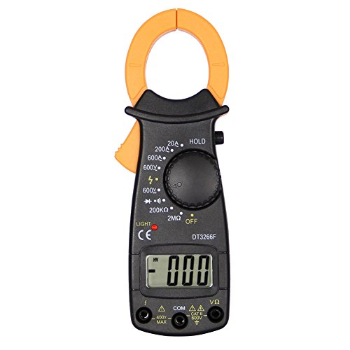 beiguoxia tragbar Tester Mini Klemm Multimeter Fire Wire Zuordnung Digital Amperemeter