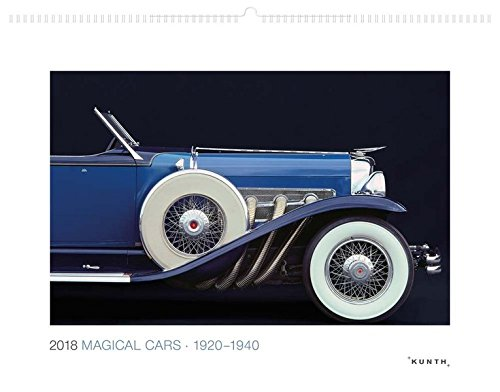 Magical Cars - 1920-1940 Kalender 2018