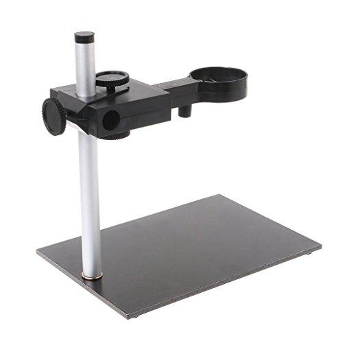 Runrain supporto universale per microscopio digitale USB, staffa di supporto regolabile in alto e in basso.