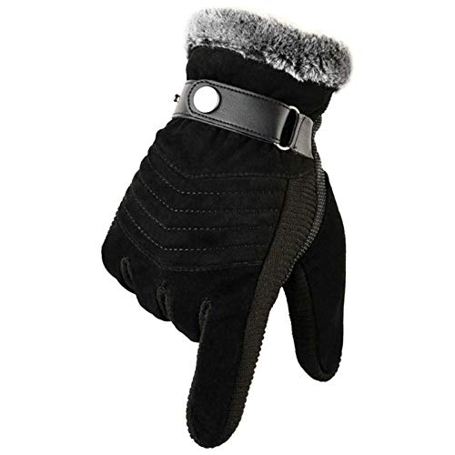 AmDxD Damen Handschuhe Sport Radfahren Jagd Sporthandschuhe Outdoor Laufhandschuhe Style 5 mit Touchscreen Funktion Schwarz Handschuhe